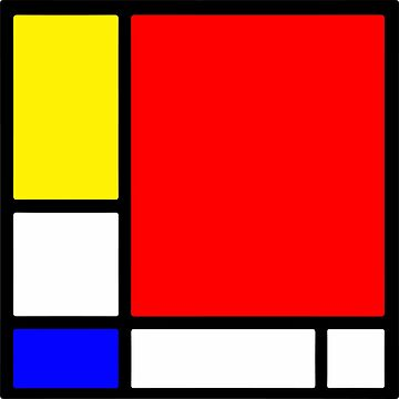 Homage to Mondriaan by iopan