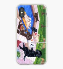 Pool Party Labradors 2 iPhone Case