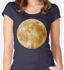 Moon Gazer Women's Fitted Scoop T-Shirt