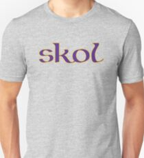 Celtic Inspired Skol Vikings Unisex T-Shirt