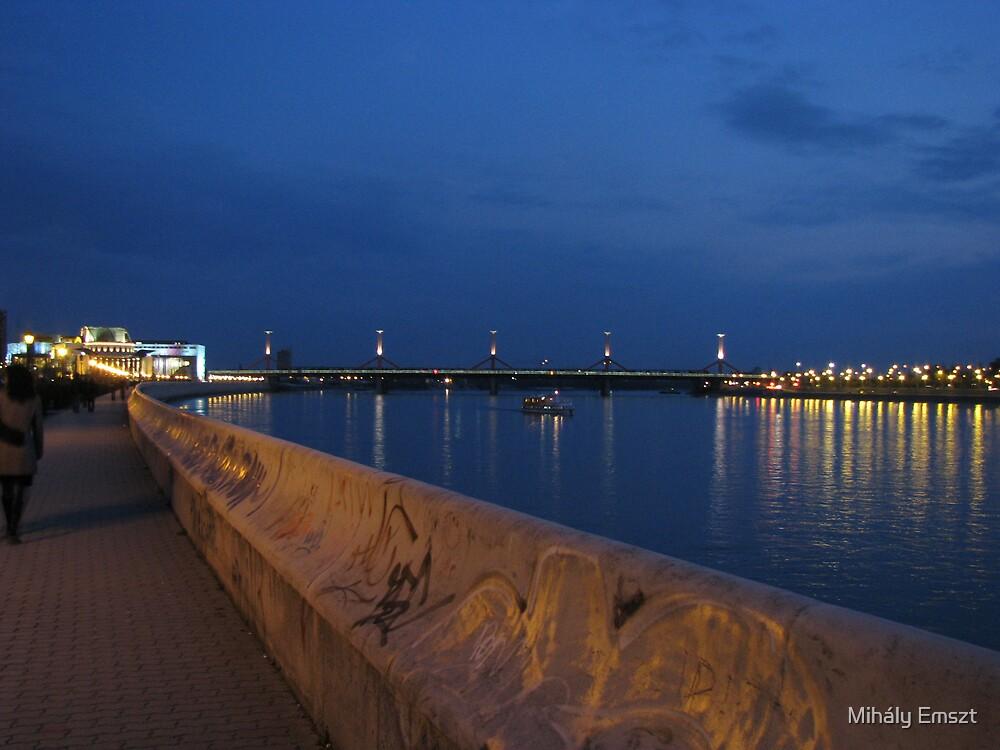 Lágymányosi híd - Lagymanyosi bridge by Mihály Emszt