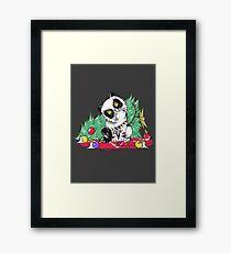 Santa Claws Christmas Cat Framed Print