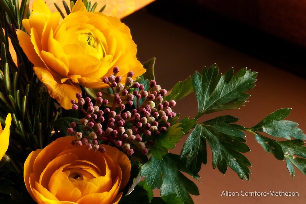 Little Bouquet by Alison Cornford-Matheson