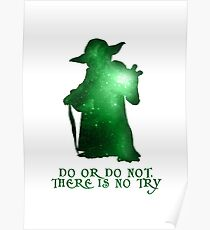 Do or Do not, There is no Try Poster