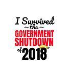 I Survived the Government Shutdown of 2018 by sketchNkustom