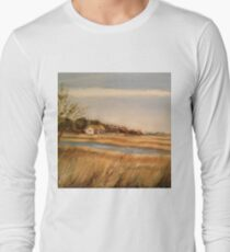Captain Charlie's Boat House Long Sleeve T-Shirt