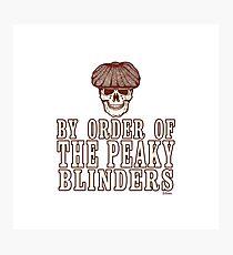Peaky Blinders - Skullder Photographic Print
