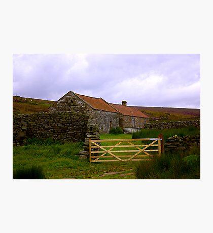 Old Barns Photographic Print