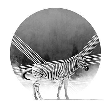 Tribal Zebra by GavinScott