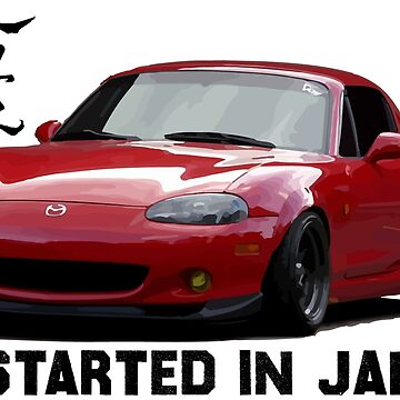 Mazda Miata / MX5 NB - Jinba Ittai, it all started in japan by mudfleap
