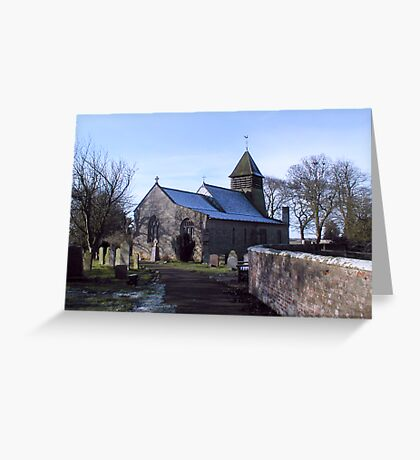 St Mary's Church-Raskelf,North Yorkshire  Greeting Card