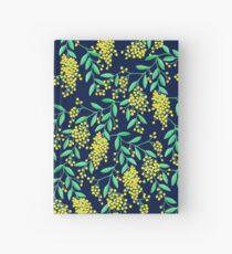 Golden Wattle - Navy Hardcover Journal