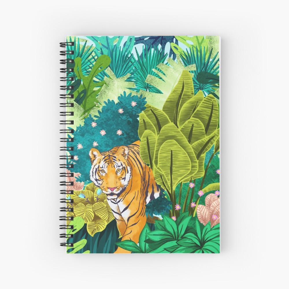 Jungle Tiger Spiral Notebook