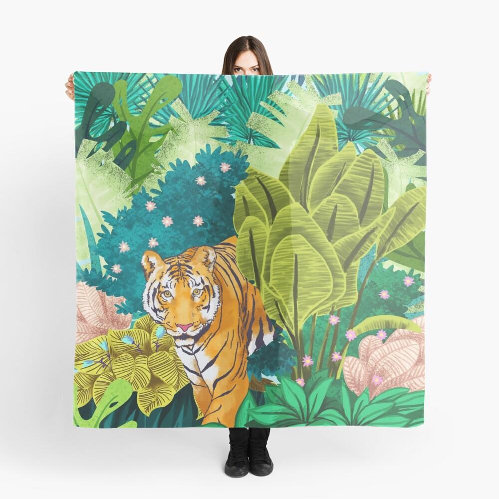 Jungle Tiger Pañuelo