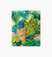 Jungle Tiger Art Board Print