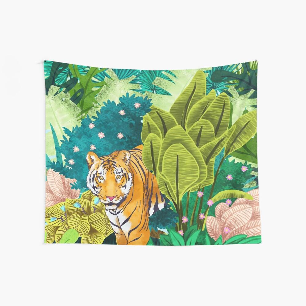 Jungle Tiger Wandbehang