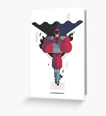 Bison Street Fighter Greeting Card
