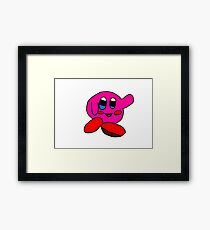 happy kirby Framed Print