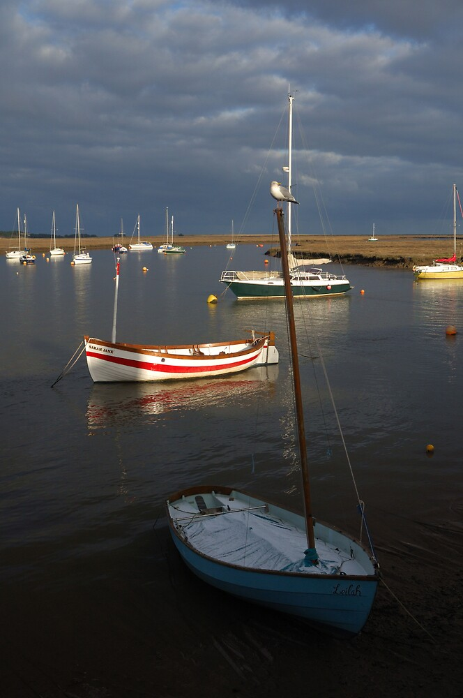 Wells-Next-The-Sea in Norfolk by Dennis Smith