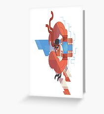 Ryu Street Fighter Greeting Card