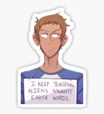 Time Out Lance Sticker