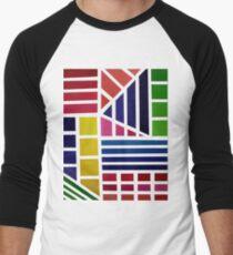 Acrylic Rainbow Men's Baseball ¾ T-Shirt