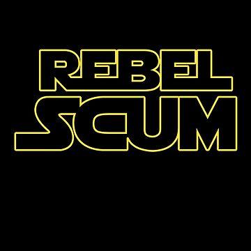 Rebel Scum Darkside by grinningskull
