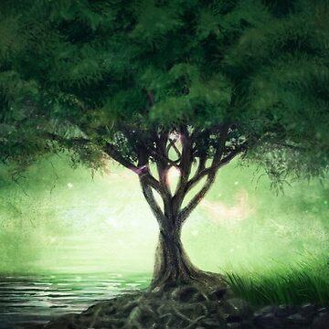 Eternal Tree by 3vaN