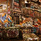 City Lights - Hosier Lane, Melbourne by Alf Caruana