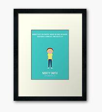 Morty Smith Framed Print