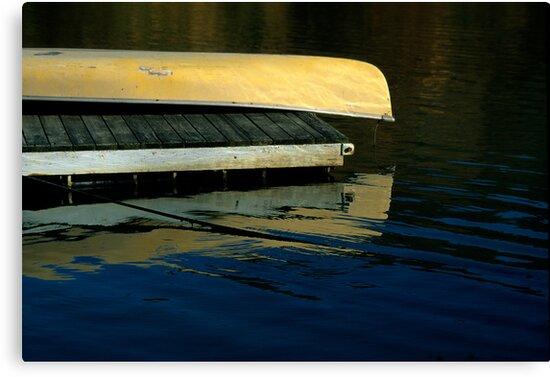 Yellow Canoe by Brian Hendricks