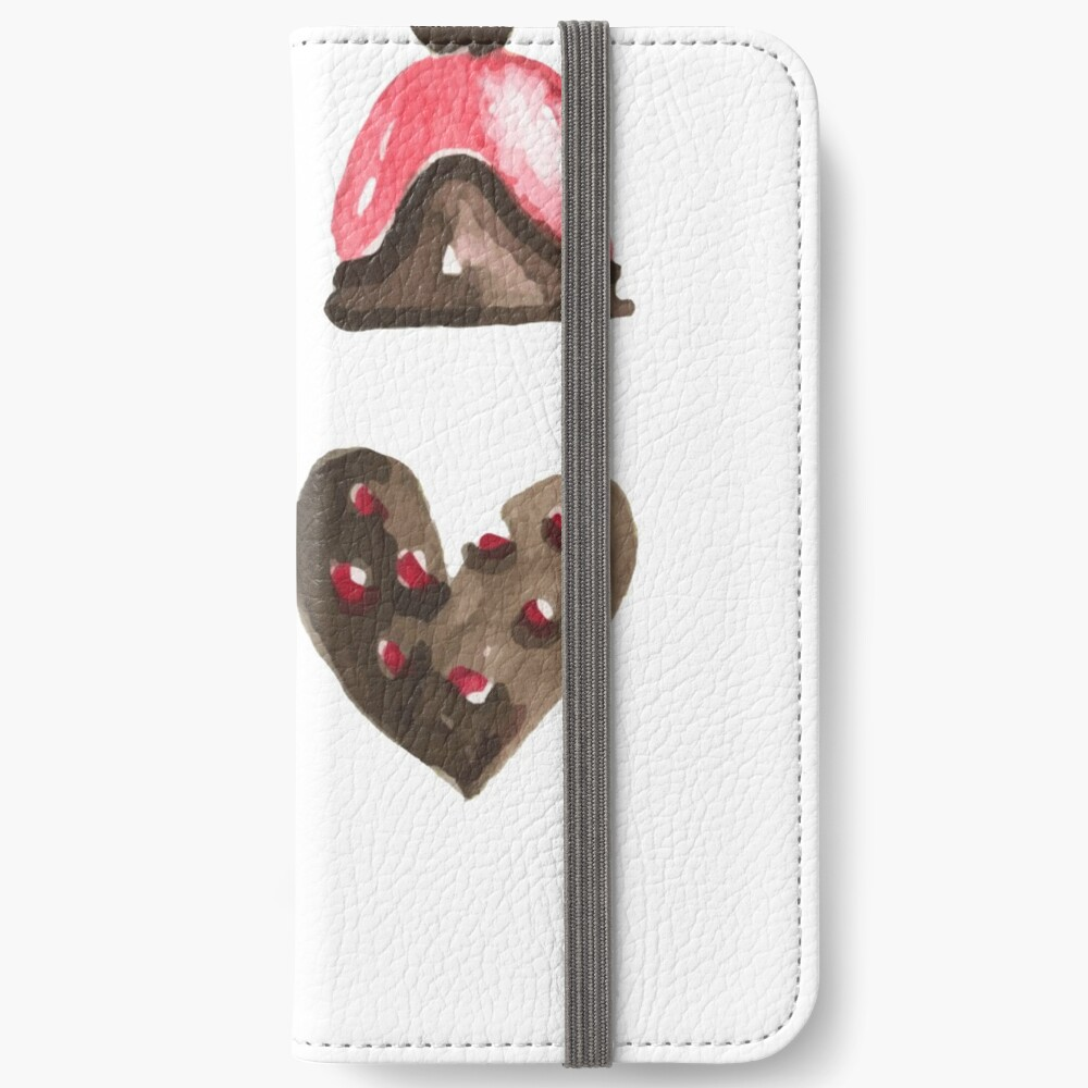 Valentines Day Chocolates Tshirt and more iPhone Wallet