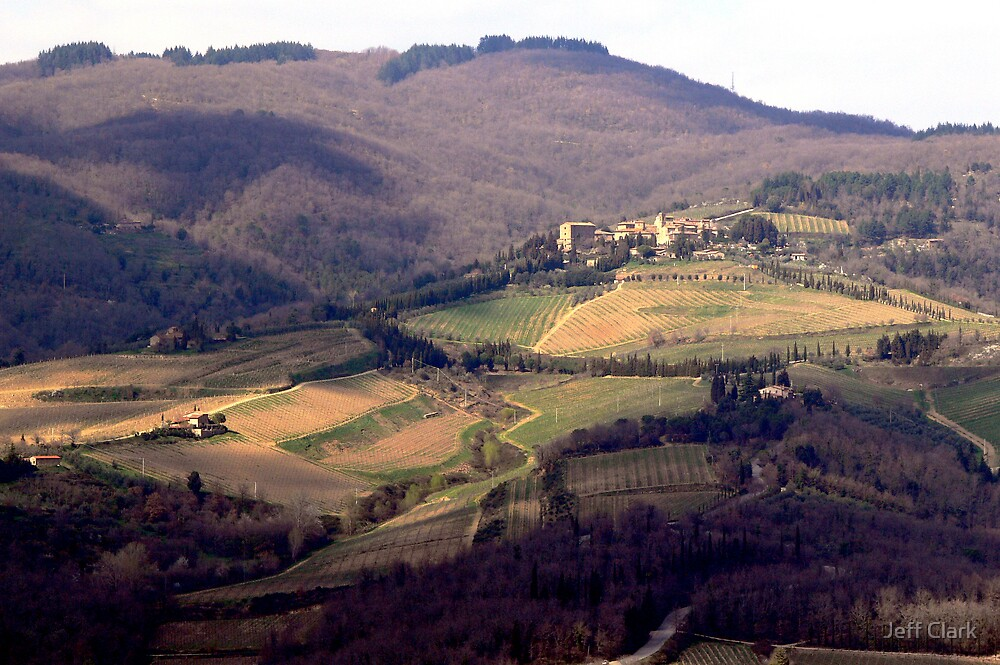 Tuscany by Jeff Clark