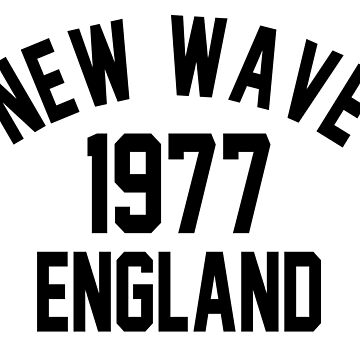 New Wave 1977 England by PSstudio