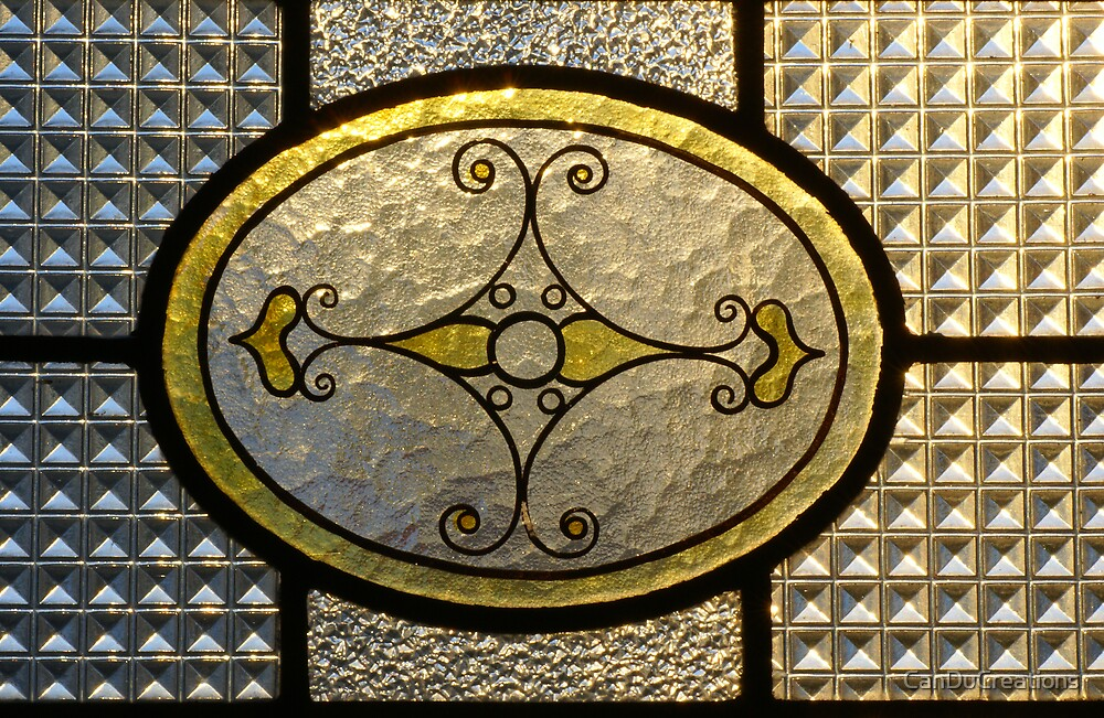 Stained glass window by CanDuCreations