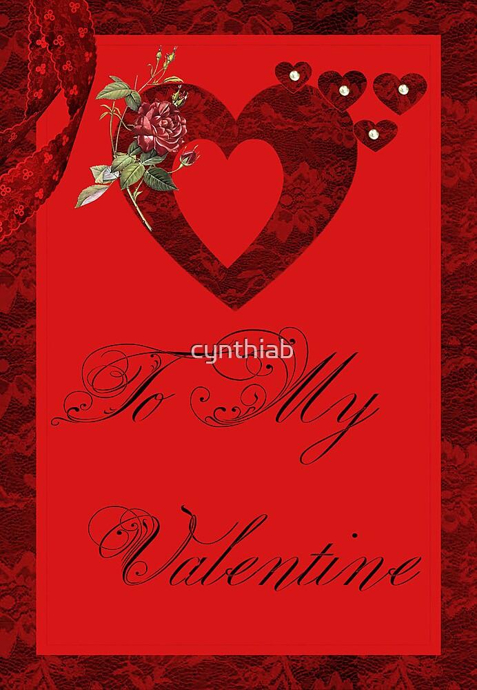 valentine  by cynthiab