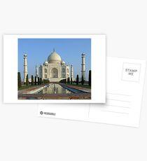 Taj Mahal Postcards