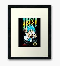 Tiny Rick Framed Print