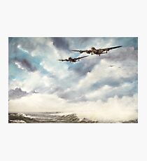 The Long Flight Home Photographic Print
