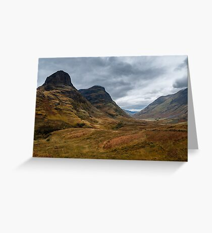 Two Sisters of Glen Coe Greeting Card