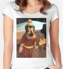 Goofey New Look  Women's Fitted Scoop T-Shirt
