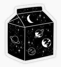 Milchstraße Transparenter Sticker