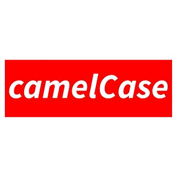 camelCase - Nerdy geeky programming conventions by minimalists