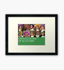 Mrs Slocombe Framed Print