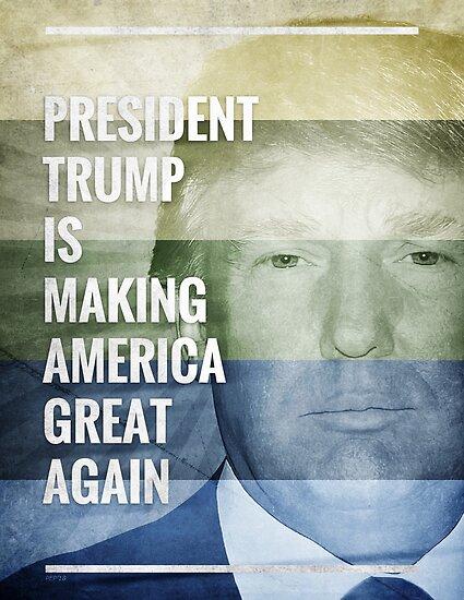 Patriot President Trump by morningdance