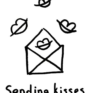 Sending kisses by syrykh