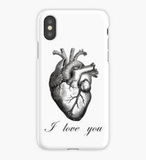 Human Heart I Love You iPhone Case/Skin