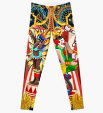 Karneval Zirkus Leggings