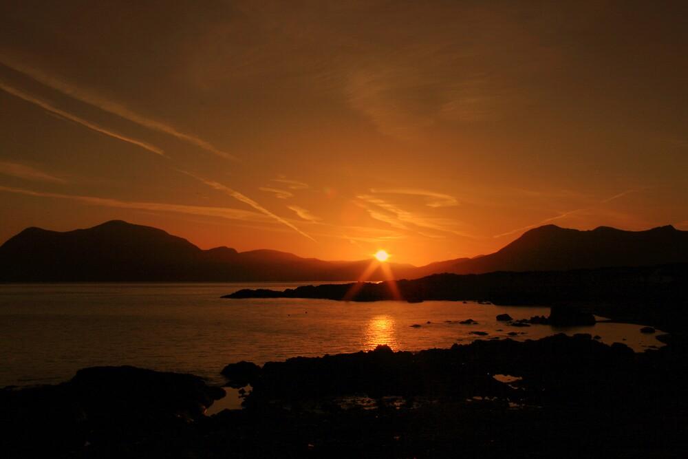 Connemara sunrise by John Quinn