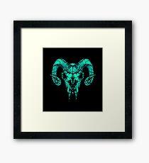 Goat Skull  Framed Print